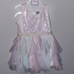Children's Place Girls Party Dress 18-24mo